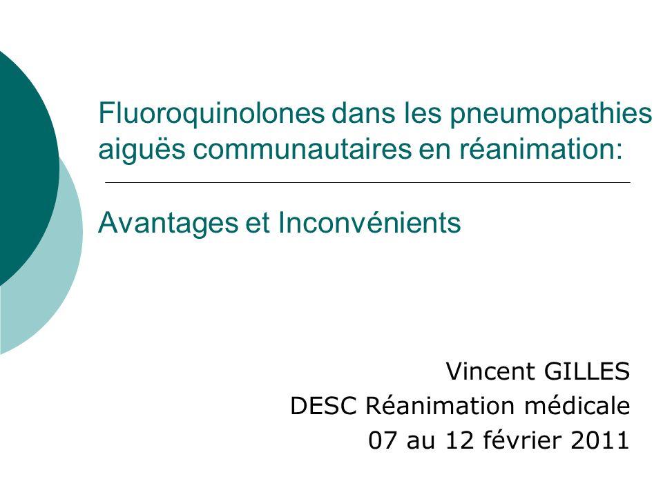 Vincent GILLES DESC Réanimation médicale 07 au 12 février 2011