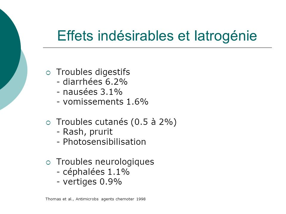 Effets indésirables et Iatrogénie