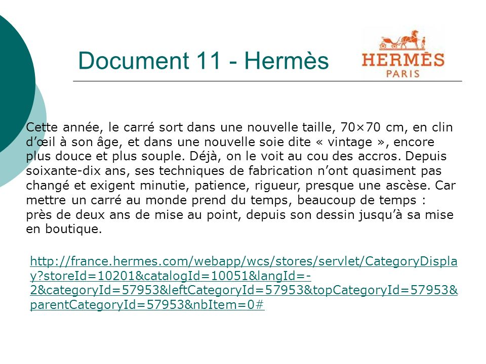 Document 11 - Hermès