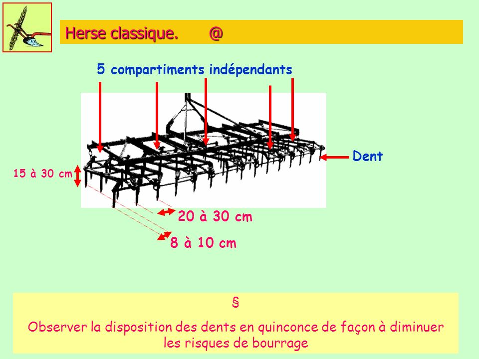 5 compartiments indépendants