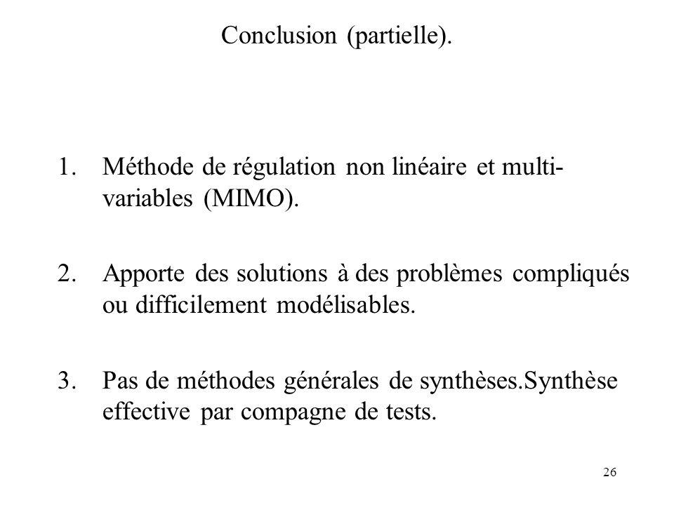 Conclusion (partielle).