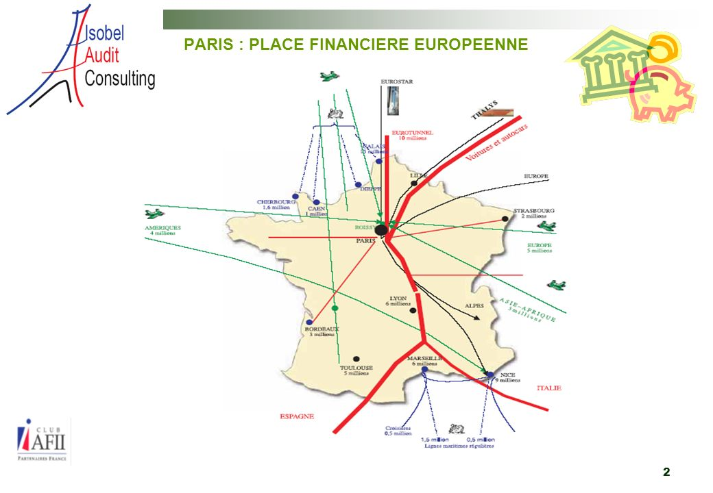 PARIS : PLACE FINANCIERE EUROPEENNE