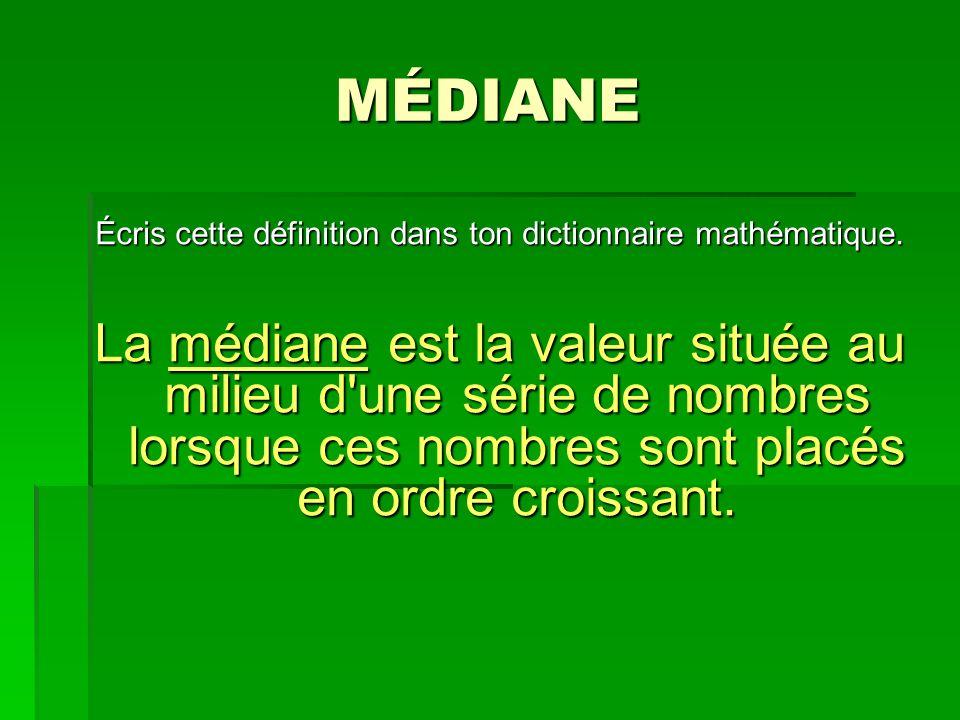 Écris cette définition dans ton dictionnaire mathématique.