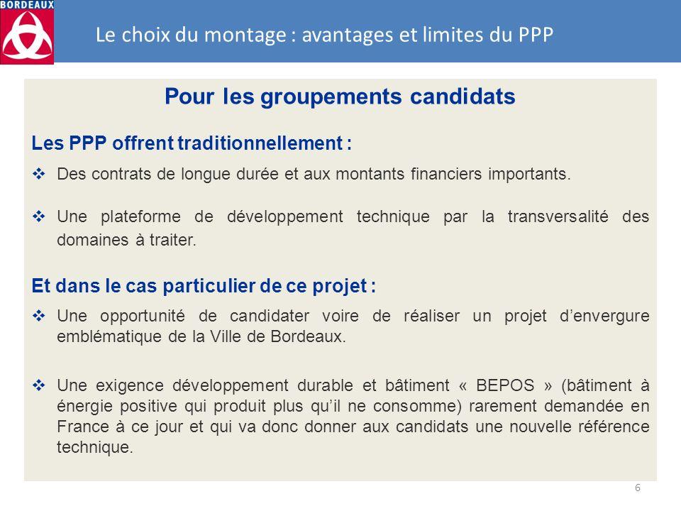 Le choix du montage : avantages et limites du PPP