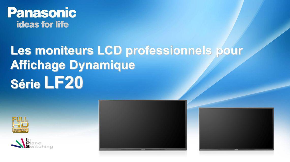 Les moniteurs LCD professionnels pour