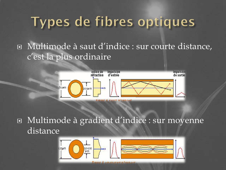 Types de fibres optiques