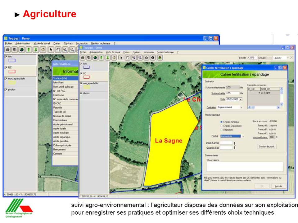► Agriculture