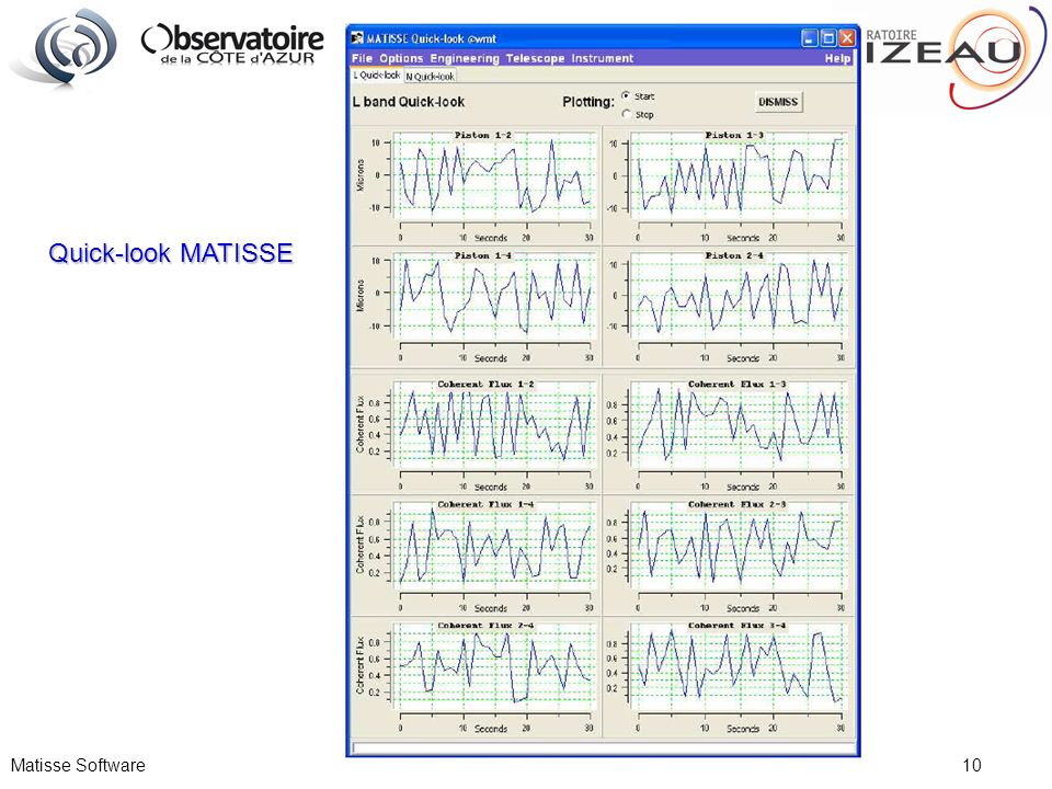 Quick-look MATISSE Matisse Software 10