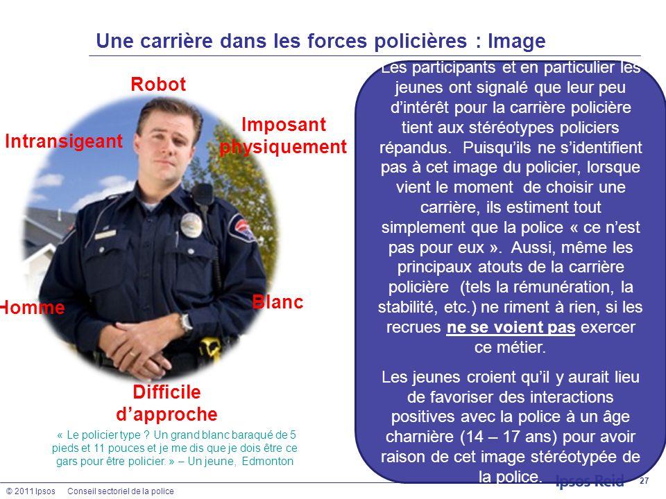 Une carrière dans les forces policières : Image