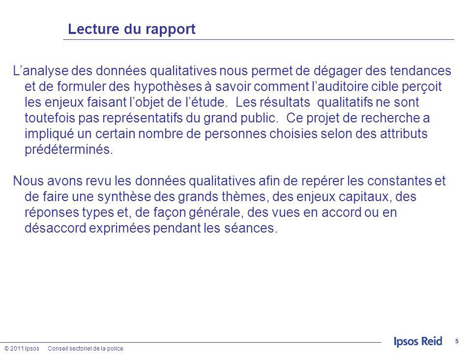 Lecture du rapport