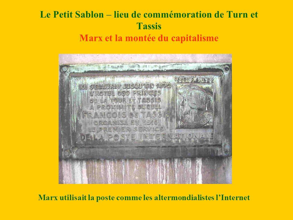 Marx utilisait la poste comme les altermondialistes l'Internet