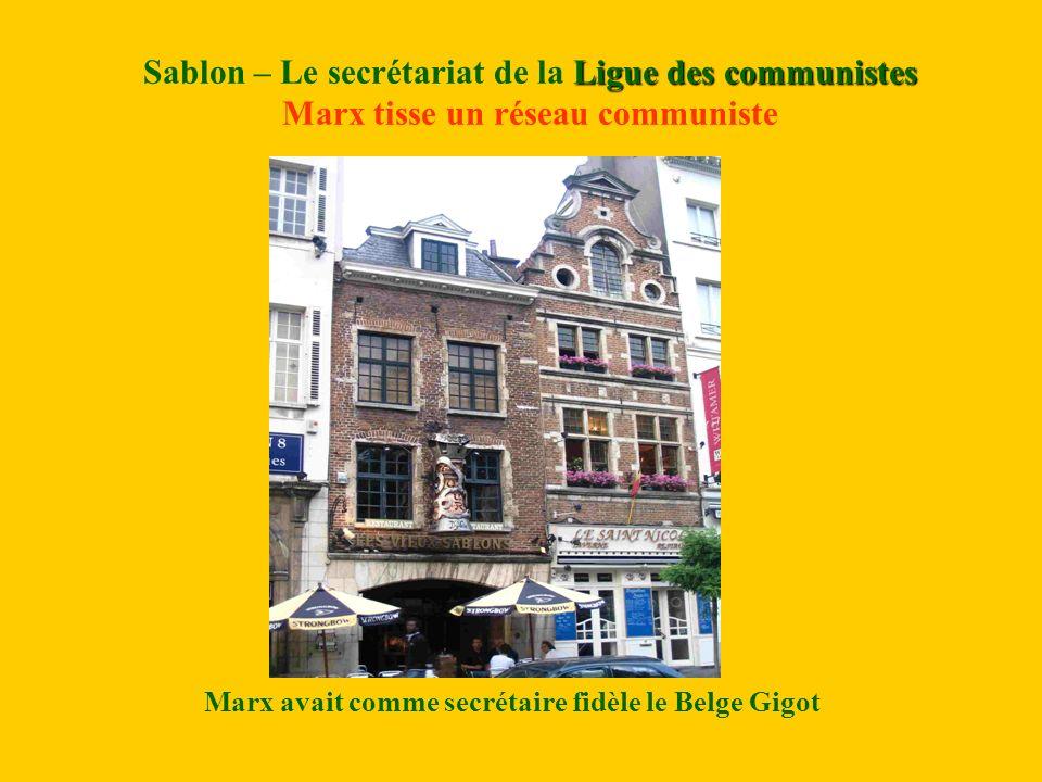Marx avait comme secrétaire fidèle le Belge Gigot