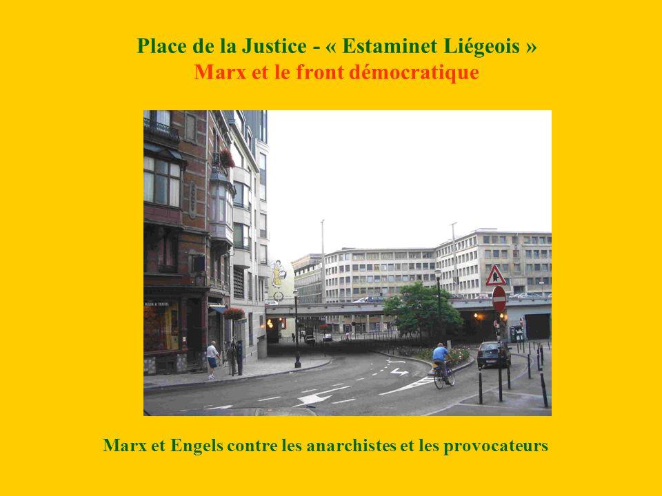 Marx et Engels contre les anarchistes et les provocateurs