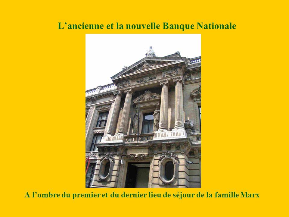 L'ancienne et la nouvelle Banque Nationale