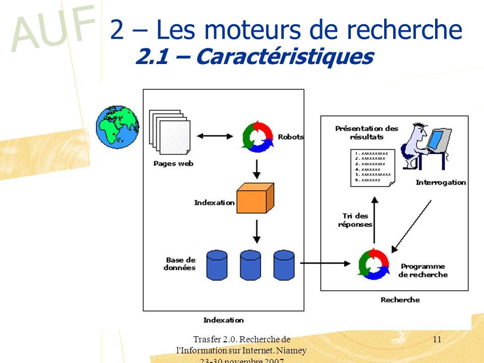 2 – Les moteurs de recherche