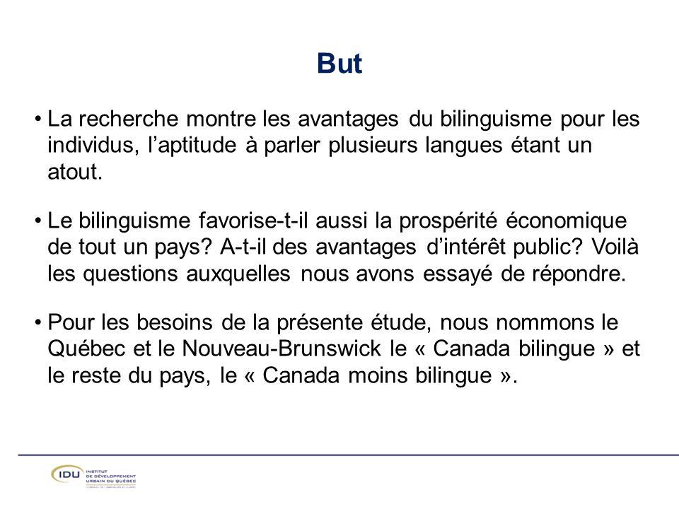 But La recherche montre les avantages du bilinguisme pour les individus, l'aptitude à parler plusieurs langues étant un atout.