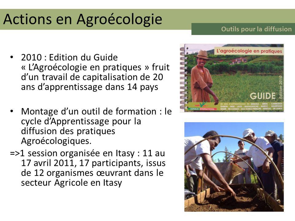 Actions en Agroécologie