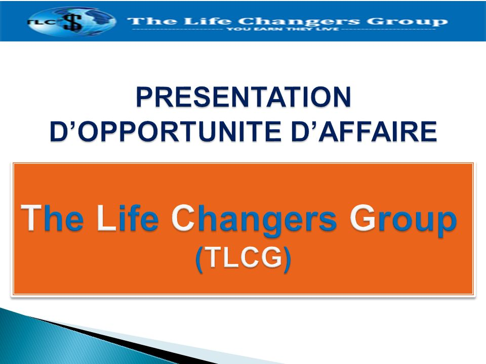 The Life Changers Group (TLCG)
