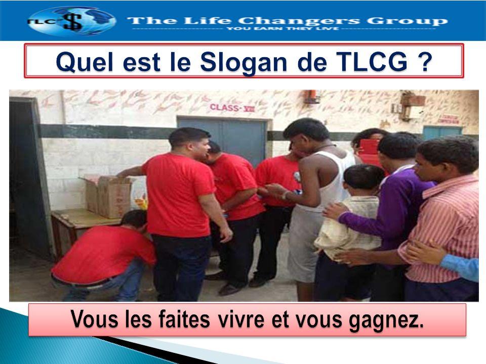 Quel est le Slogan de TLCG