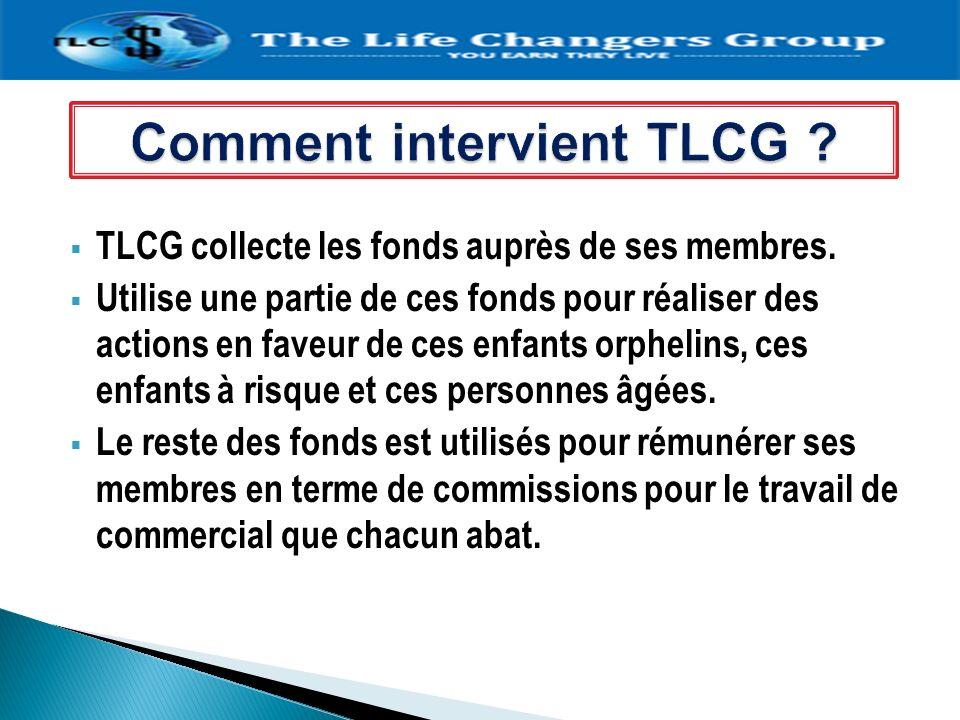 Comment intervient TLCG