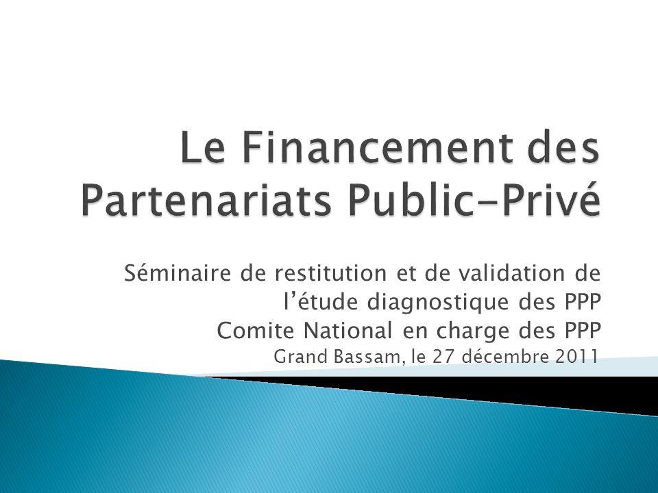 Le Financement des Partenariats Public-Privé