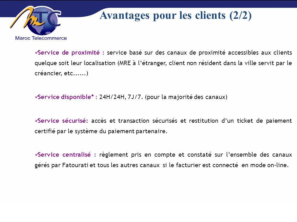 Avantages pour les clients (2/2)