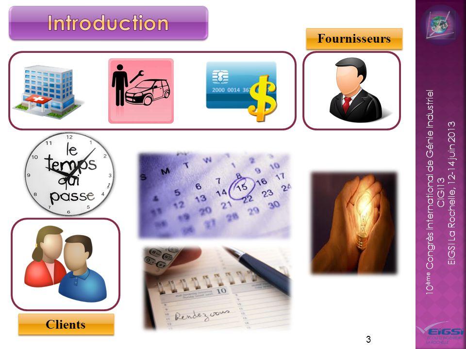 Introduction Fournisseurs Clients