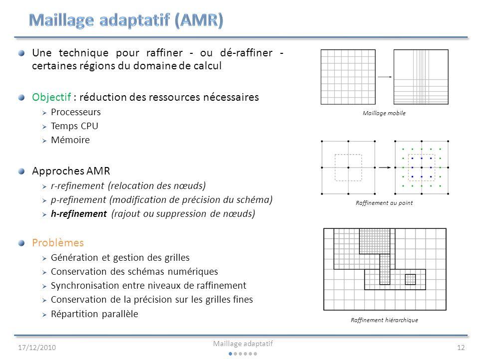 Maillage adaptatif (AMR)