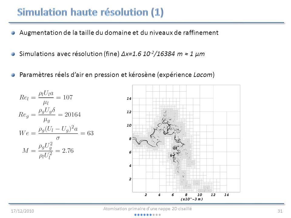 Simulation haute résolution (1)