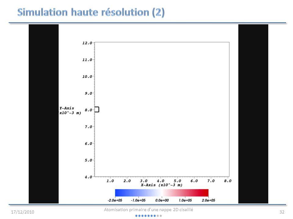 Simulation haute résolution (2)