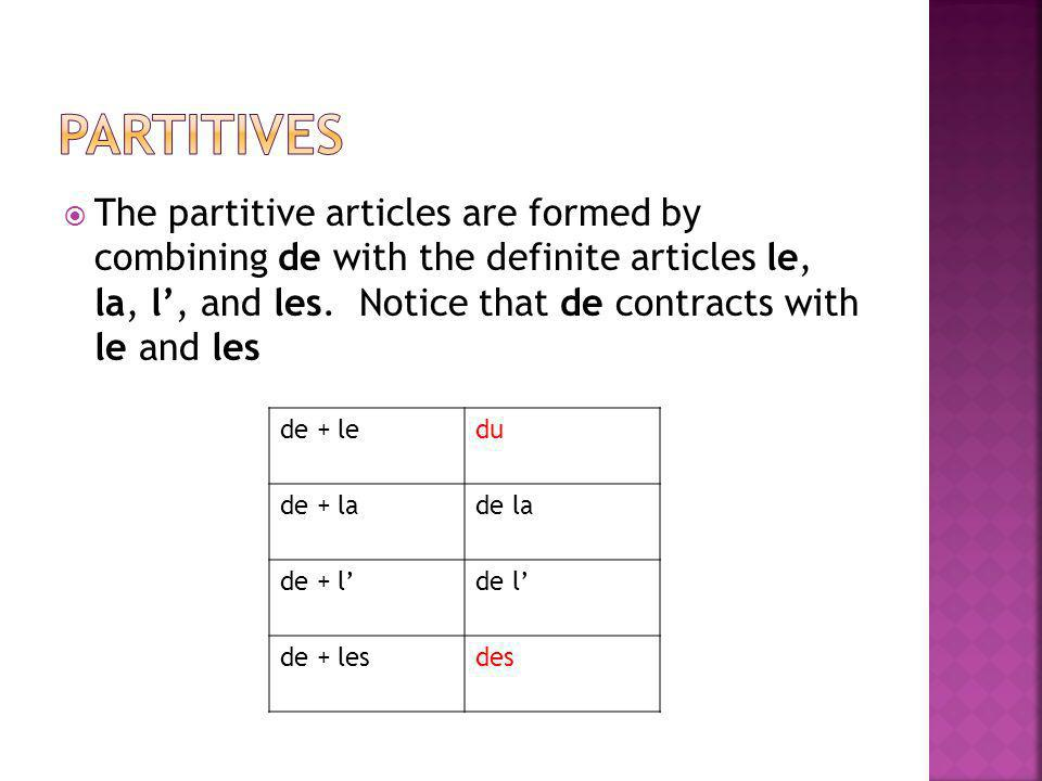 partitives
