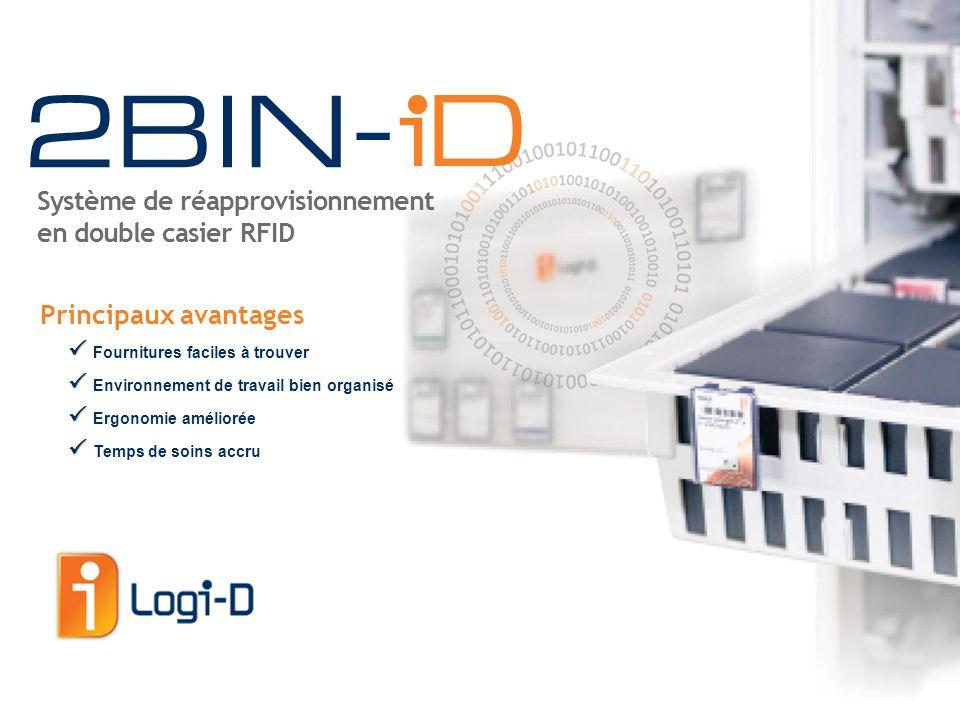 Le système 2BIN-iD a été conçu pour gérer les fournitures d'un hôpital, de la salle d'opération aux unités de soins généraux et spécialisés.