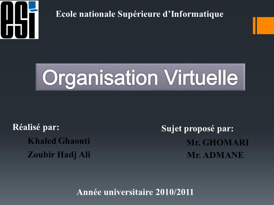 Organisation Virtuelle