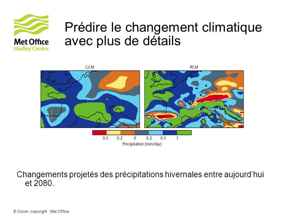 Prédire le changement climatique avec plus de détails