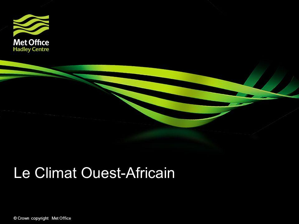 Le Climat Ouest-Africain