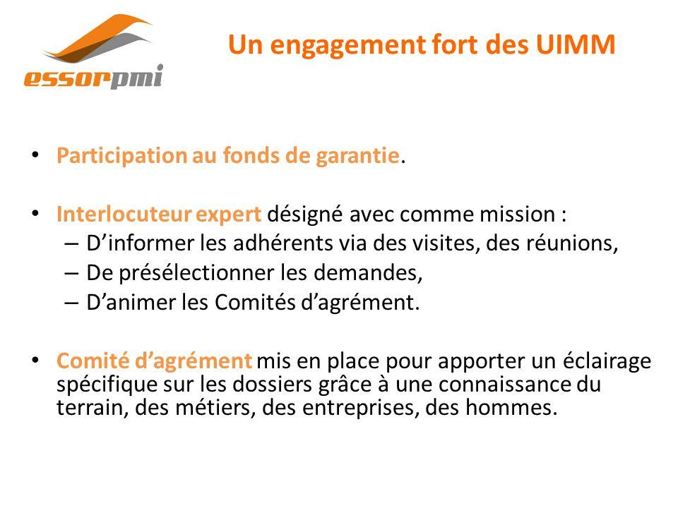 Un engagement fort des UIMM