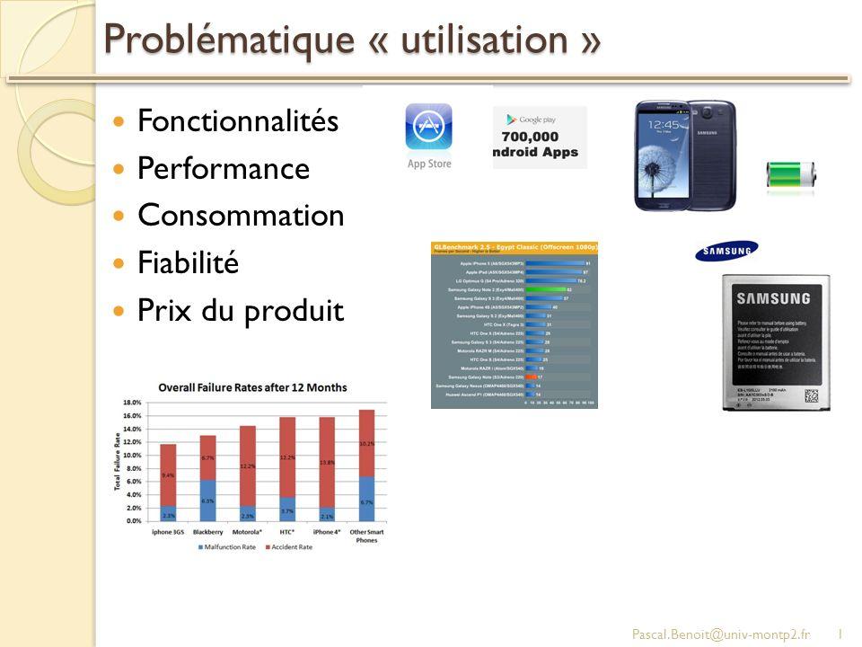 Problématique « utilisation »