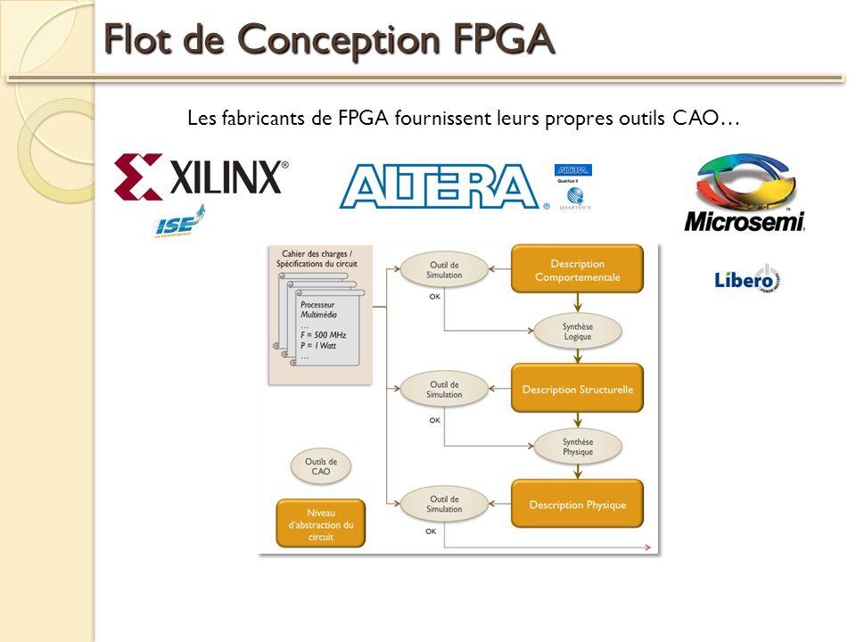 Flot de Conception FPGA