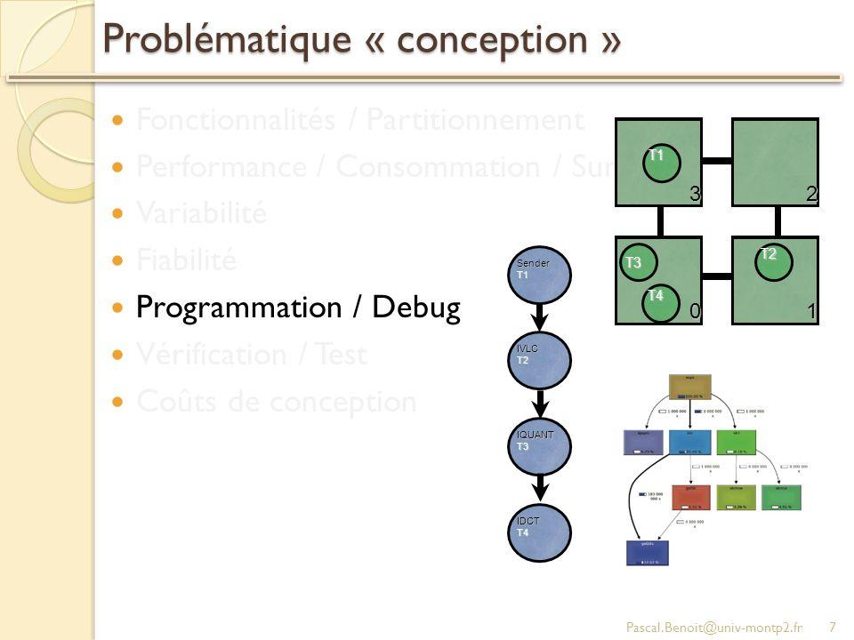 Problématique « conception »