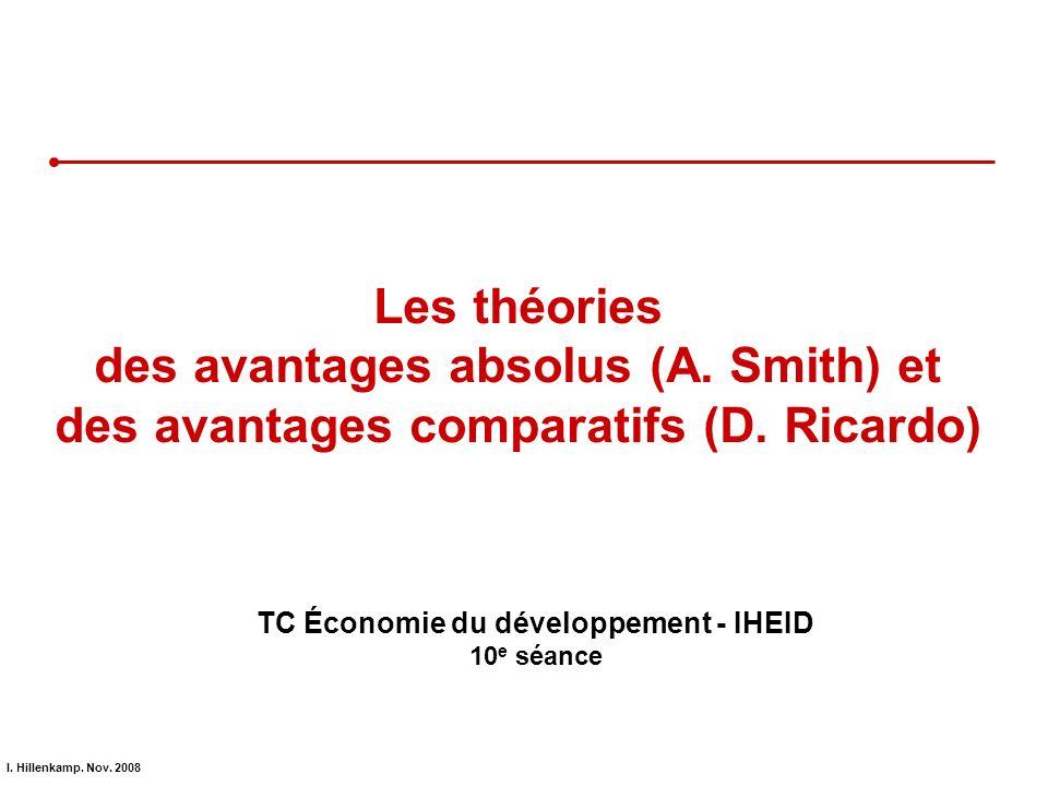 TC Économie du développement - IHEID