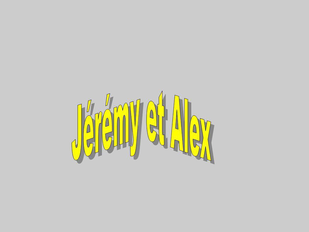 Jérémy et Alex