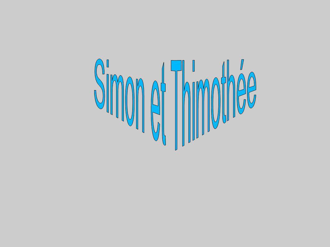 Simon et Thimothée