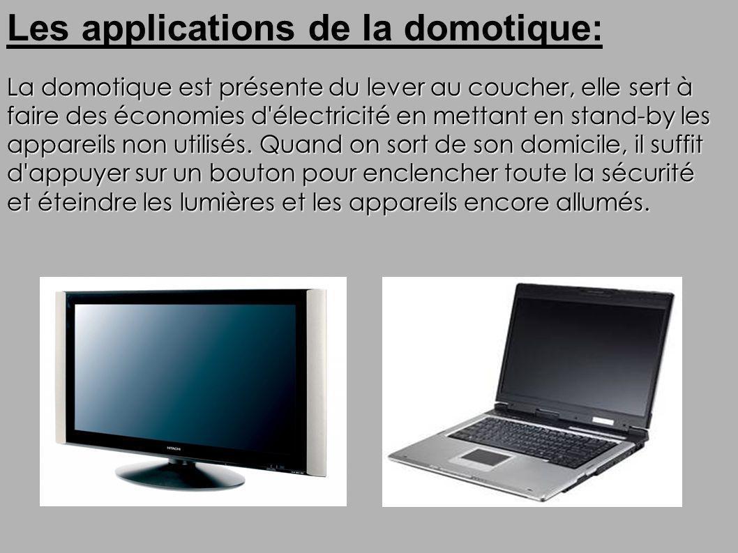 Les applications de la domotique: