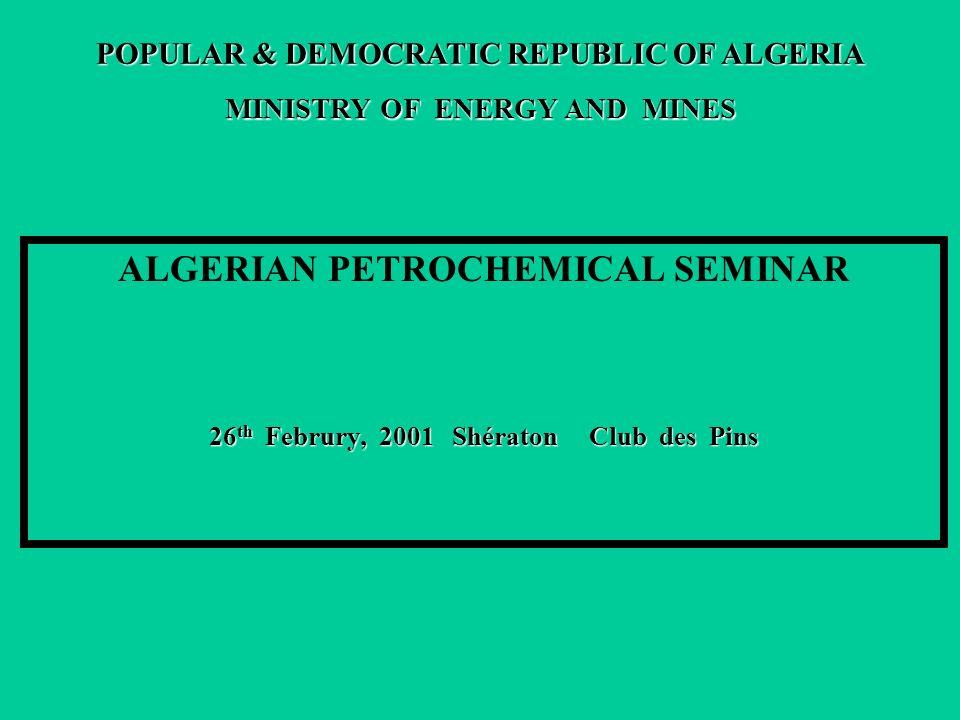ALGERIAN PETROCHEMICAL SEMINAR