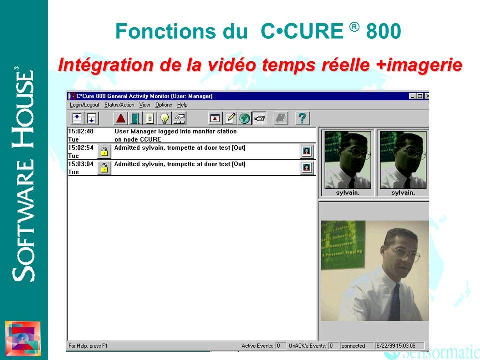 Intégration de la vidéo temps réelle +imagerie