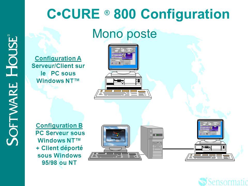C•CURE ® 800 Configuration