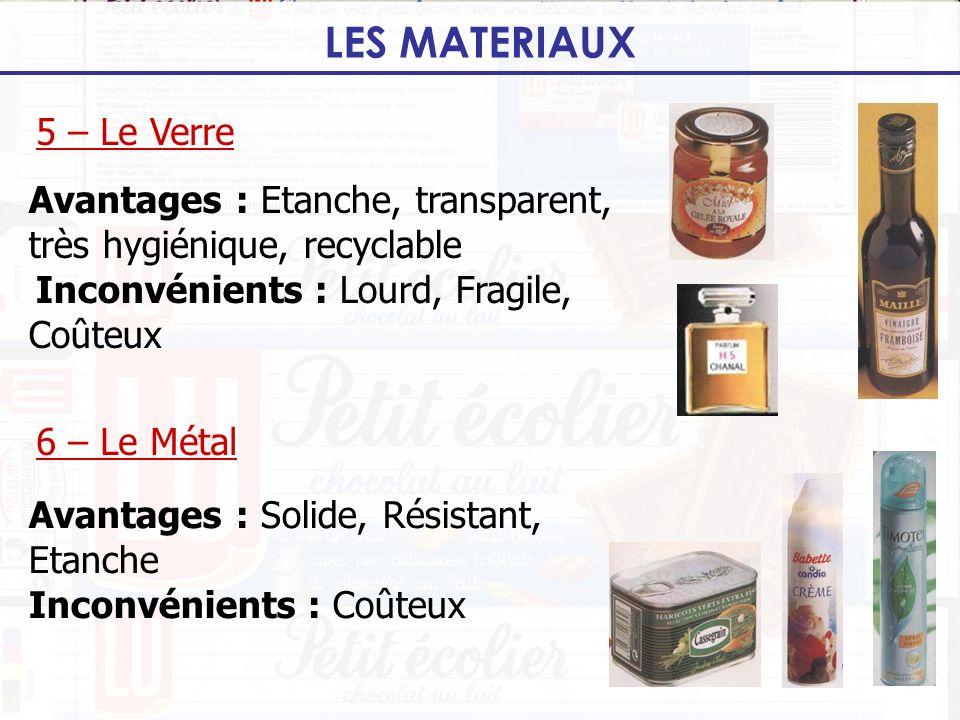 LES MATERIAUX 5 – Le Verre