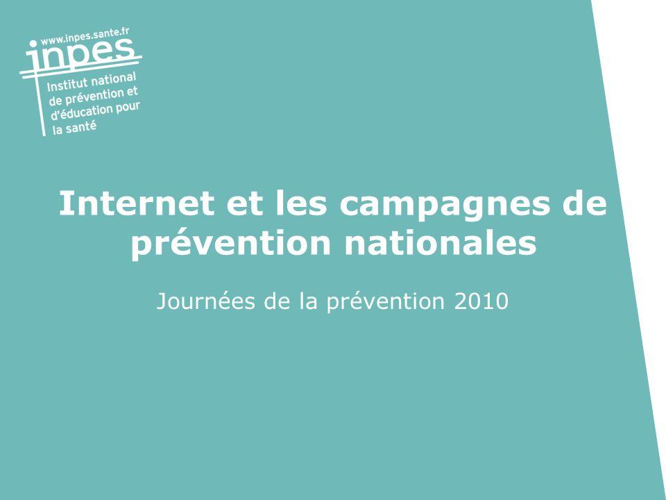 Internet et les campagnes de prévention nationales