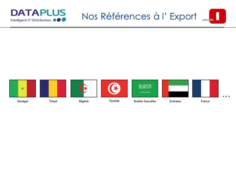 Nos Références à l' Export