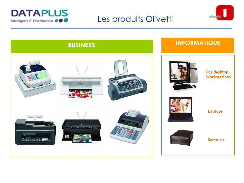 Les produits Olivetti INFORMATIQUE BUSINESS Pcs desktop Workstations